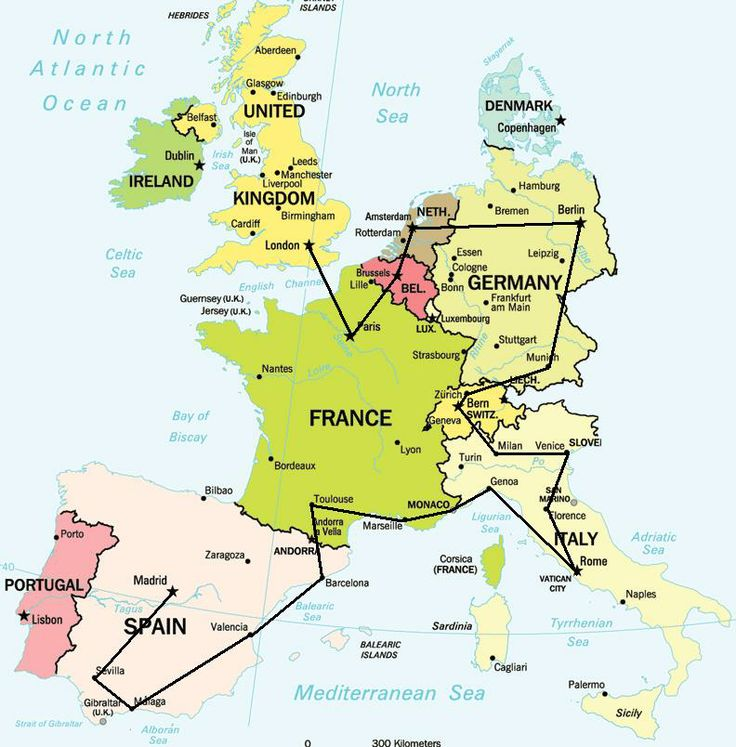 Europe Travel Destinations |Map Europe Vacation