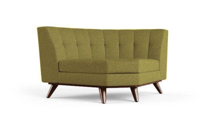 Hughes Round Corner Chair #RoundChair