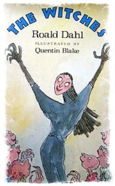 Witches by Rahl Dahl - 1st edition cover