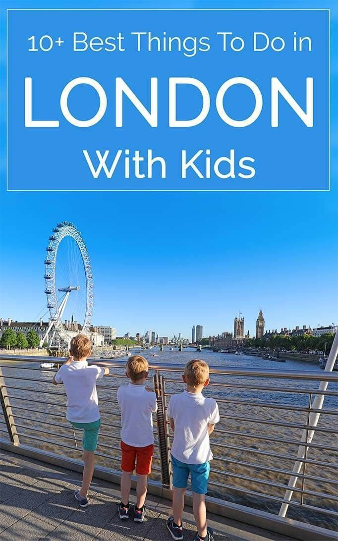 Selection of 10+ best things to see and do in #London with #kids. Whether you've been to London before or are visiting for the first time, you will definitely find some new inspiration in this post. Check it out! #travel #thingstodo