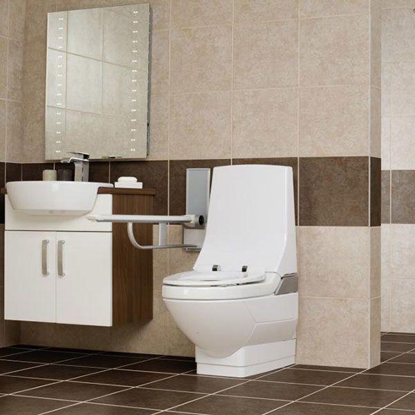Geberit AquaClean 8000 Plus Care Close Coupled Toilet