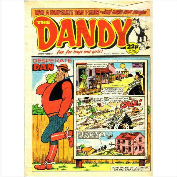 The Dandy Comics #2473 April 15th 1989 on eBid United Kingdom
