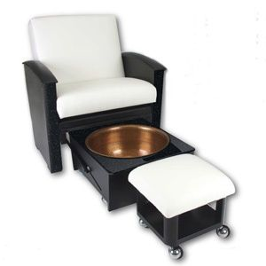 Living Earth Crafts - Spa Pedicure Chair #spaessentials