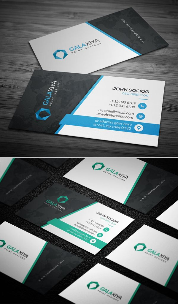 Modern Creative Business Card Template Business Cards Creative Create Business Cards Business Cards Creative Templates