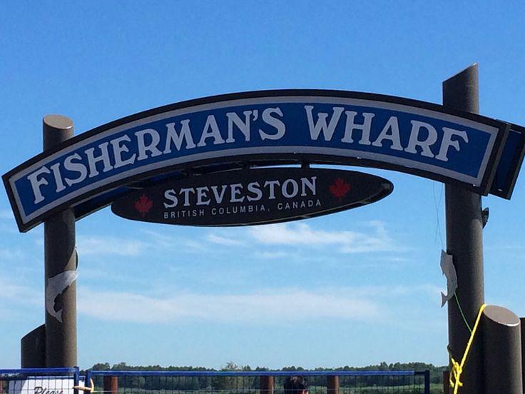New Steveston sign...