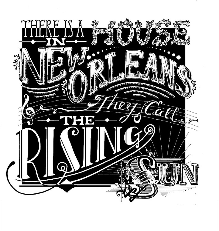 House Of The Rising Sun - Harriet Stansall Illustration