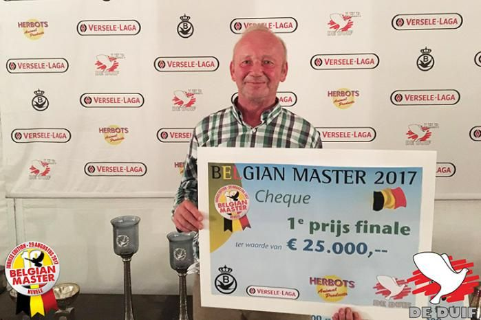 Luc Bafort, winner of the 10th and final edition of the Belgian Master.