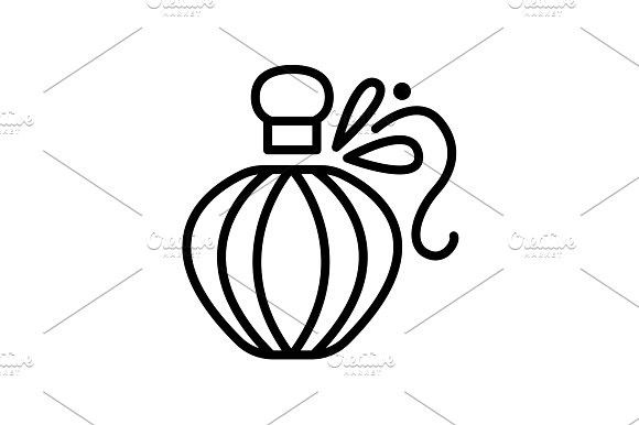 Web Line Icon Perfume Black Perfume Logo Perfume Design Perfume