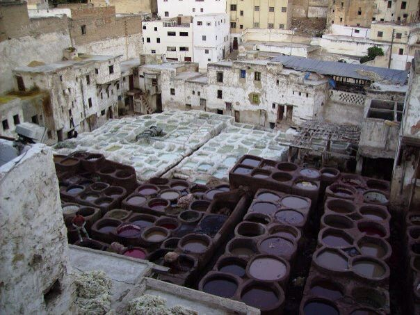 Tanneries, Marrakesh