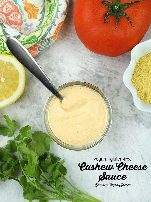 Vegan Cashew Cheese Sauce In 2020 Vegan Cashew Cheese Vegan Cheese Recipes Cashew Cheese Sauce