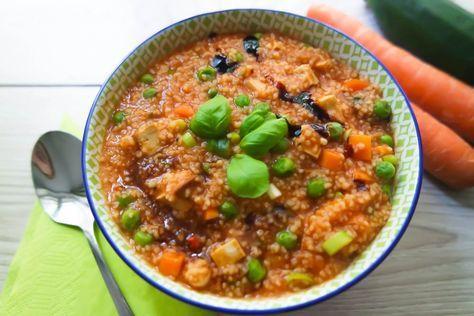 Veganer Hirse-Gemüse-Topf – das würzige Gericht mit Hirse – glutenfrei & fettarm