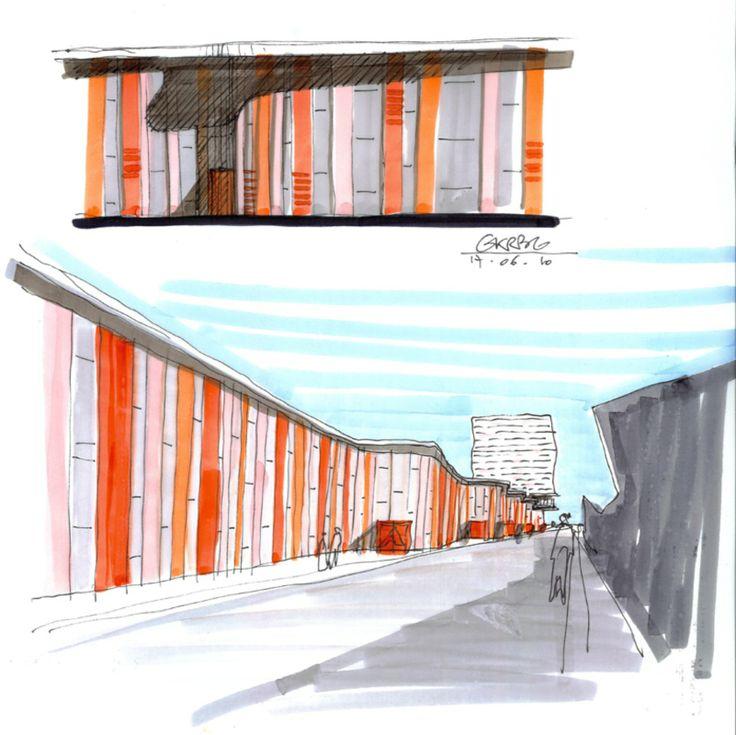 Kirchberg LuxExpo and Train Station District - STEINMETZDEMEYER architectes urbanistes