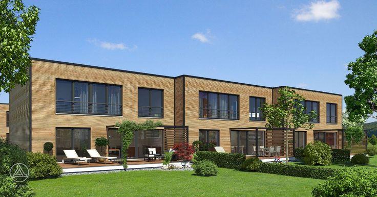 das mehrfamilien reihenhaus patiohaus von baufritz bietet. Black Bedroom Furniture Sets. Home Design Ideas