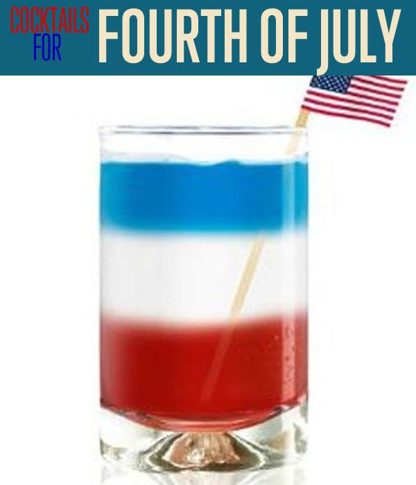 4th of july alcoholic cocktails