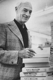 """""""You never have to change anything you got up in the middle of the night to write.""""  ― Saul Bellow"""