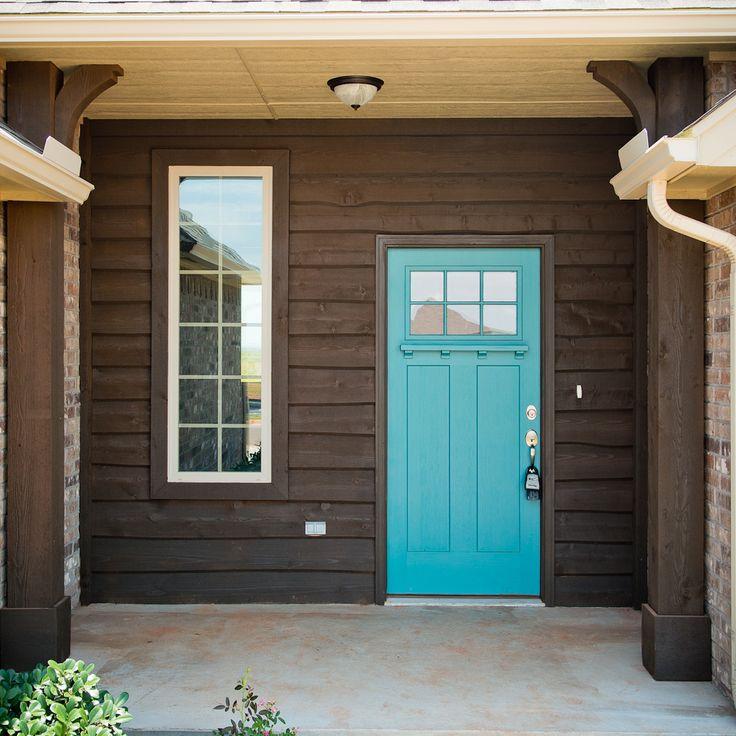 Cedar Siding Color Ideas: Beacon Homes: Saybrook Floor Plan Features Welcoming Front