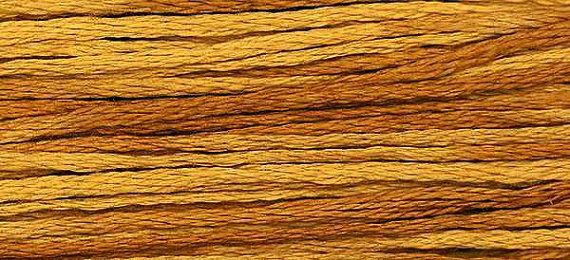 2219 Whiskey  Weeks Dye Works 6 Strand Floss by FiddlestixDesign, $2.30