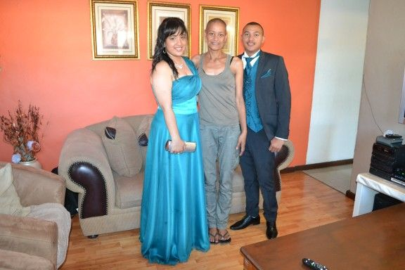 Me with my niece Robyn and her partner
