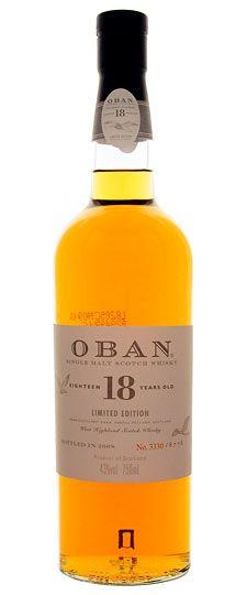 Oban 18 Year Limited Edition Single Malt Whisky
