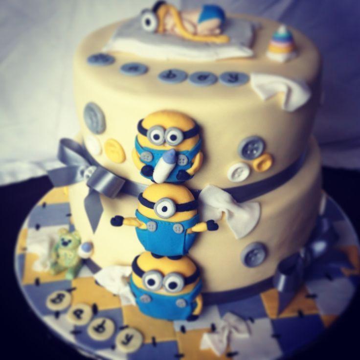 minions minions baby birthday cakes cake baby minion baby shower