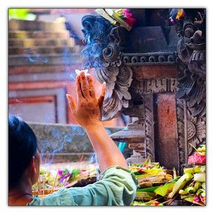 Sacred places Ubud