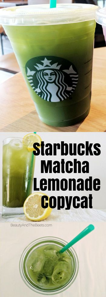 Starbucks Matcha Lemonade Copycat Beauty and the Beets (1)