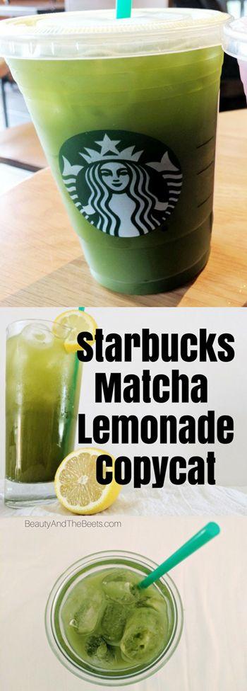 Starbucks Matcha Lemonade Copycat Beauty and the Beets (1)