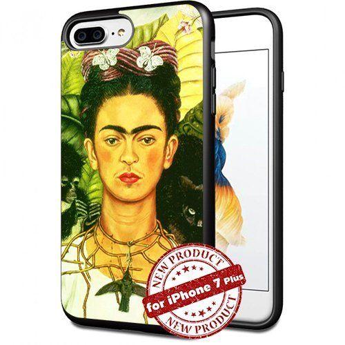 Frida Kahlo Cool Women Apple iPhone 7+ Plus Case Art Design Cover Slim Rubber Case by SURIYAN, http://www.amazon.com/dp/B01MTP48MT/ref=cm_sw_r_pi_dp_x_MJtFzbRP9KREJ