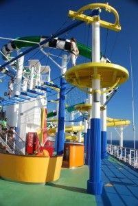 Carnival Sunshine for families.