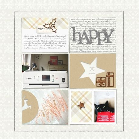 """pixma"" digital scrapbook layout by paddy wolf- made with marisa lerin and sahin design kits available on pixelscrapper.com"