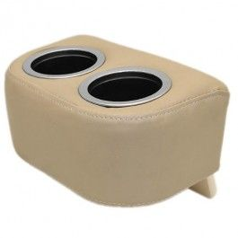 Bennington Boat Side By Side Cupholder | 11 x 6 5/8 Inch Tan