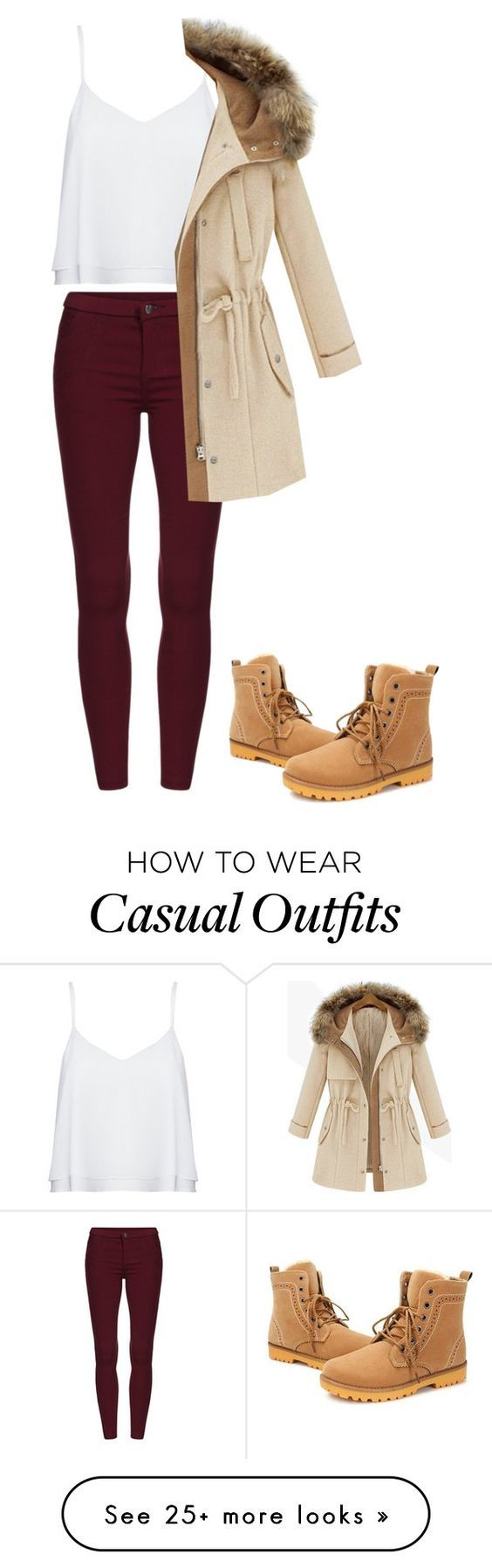 """Casual Autumn"" by bronaaa on Polyvore featuring Alice + Olivia"