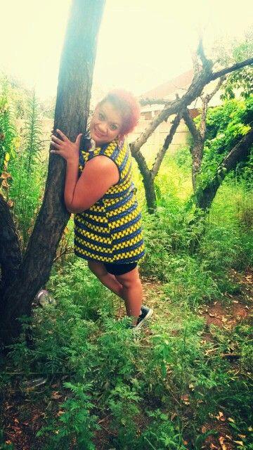 Nisa #Afrodizzy Tunic