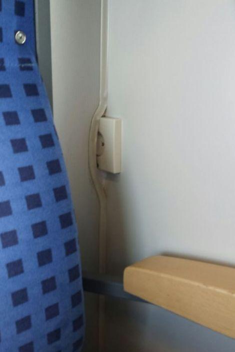 Nächster Halt: WC.
