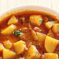 Batata Nu Shaak (Gujarati Style Potato Sabzi)