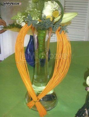Una originale decorazione con toni #giallo arancio