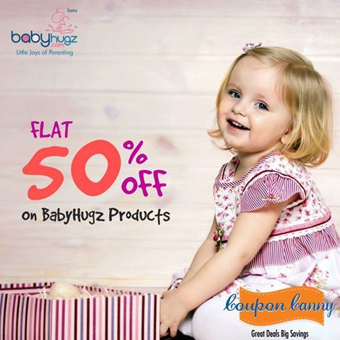 End Of Season Sale ! Flat 50% off at #BabyHugz! Claim Now : http://www.couponcanny.in/end-of-season-sale-deals/