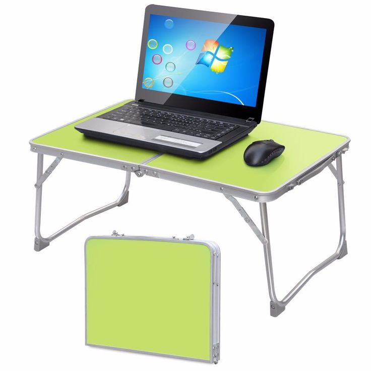 New Portable Laptop Desk Folding Laptop Table Stand Computer Notebook Bed Tray