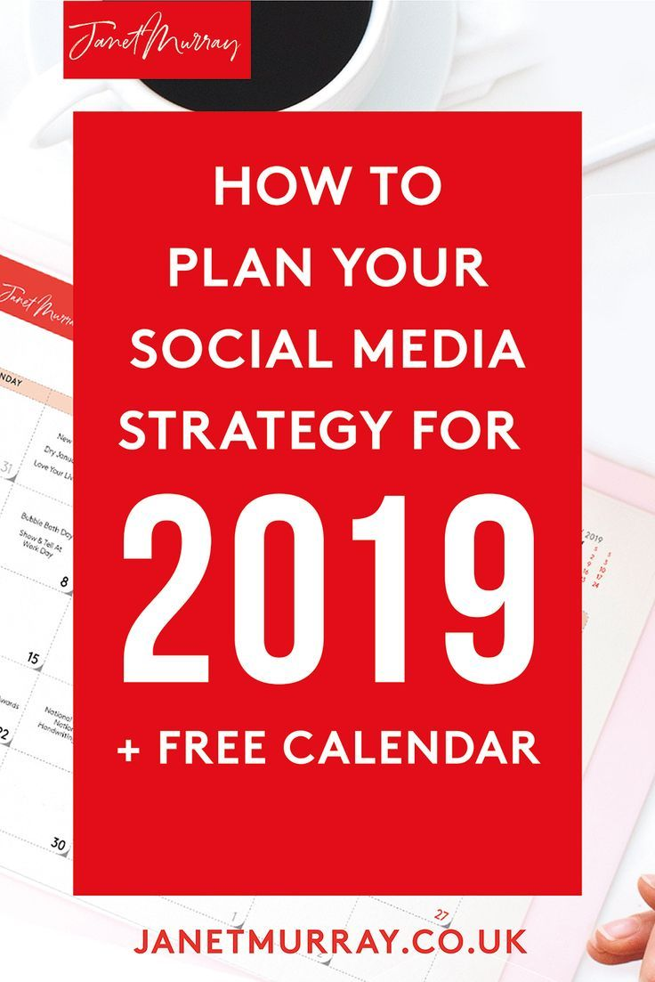 How to create a media calendar for 2019 (and why you need to)