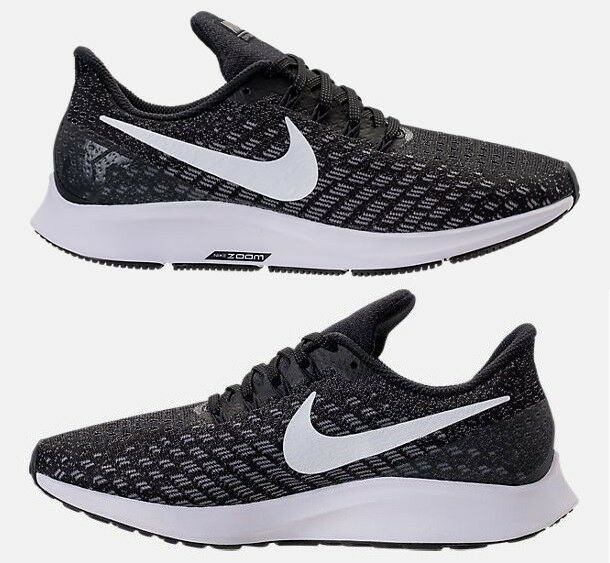 new arrival a1fba c70f3 NIKE AIR ZOOM PEGASUS 35 WOMENS RUNNING BLACK - WHITE ...