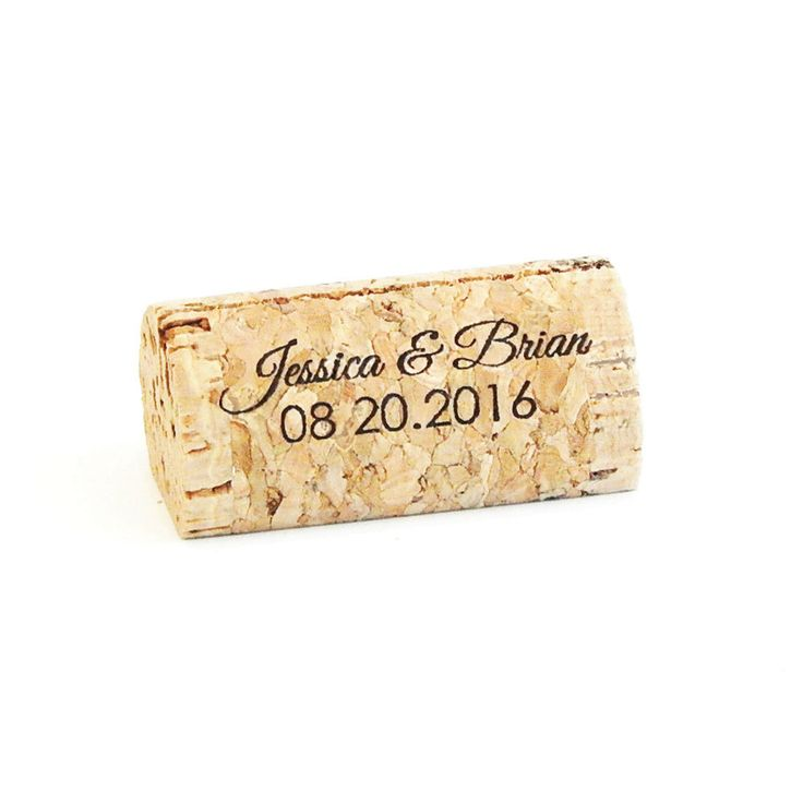 our wine cork place card holders allow you to add a personal touch to your event we can print anything from names wedding dates monograms