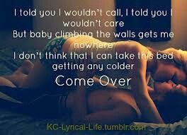 Come over ~ Kenny Chesney
