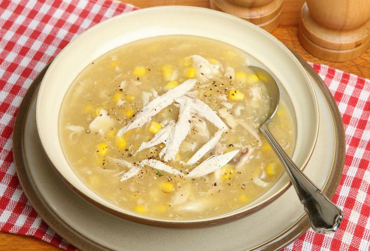 Try our yummy chicken and sweetcorn soup, it's so easy to make and perfect for those chilly mornings