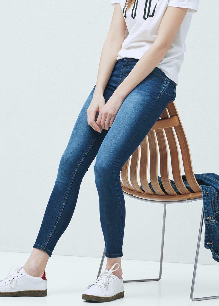Jeans skinny push-up kim - Jeans da Donna | MANGO Italia
