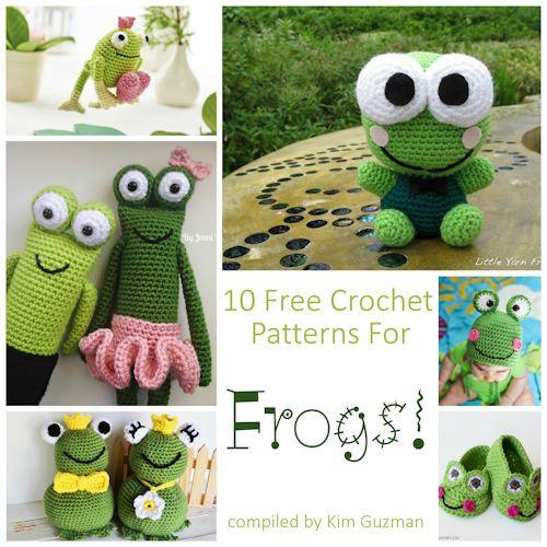 Monday Link Blast  10 Free Crochet Patterns for Frogs  C Make It Crochet