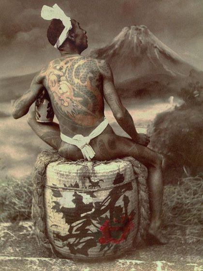 続・19世紀の刺青写真の画像 | 歪んだものほど美しい