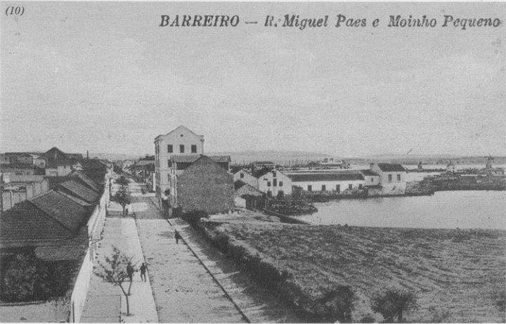 Barreiro Antigo - Rua Miguel Paes