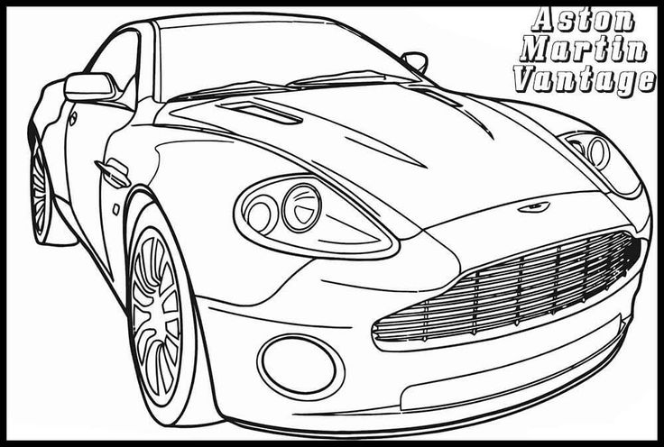 Automotive Illustration By Martin Squires