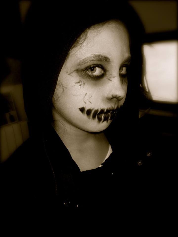 Solo yo: Makeup Halloween. Fantasma Fácil  Disfraz Fantasma...                                                                                                                                                                                 Más