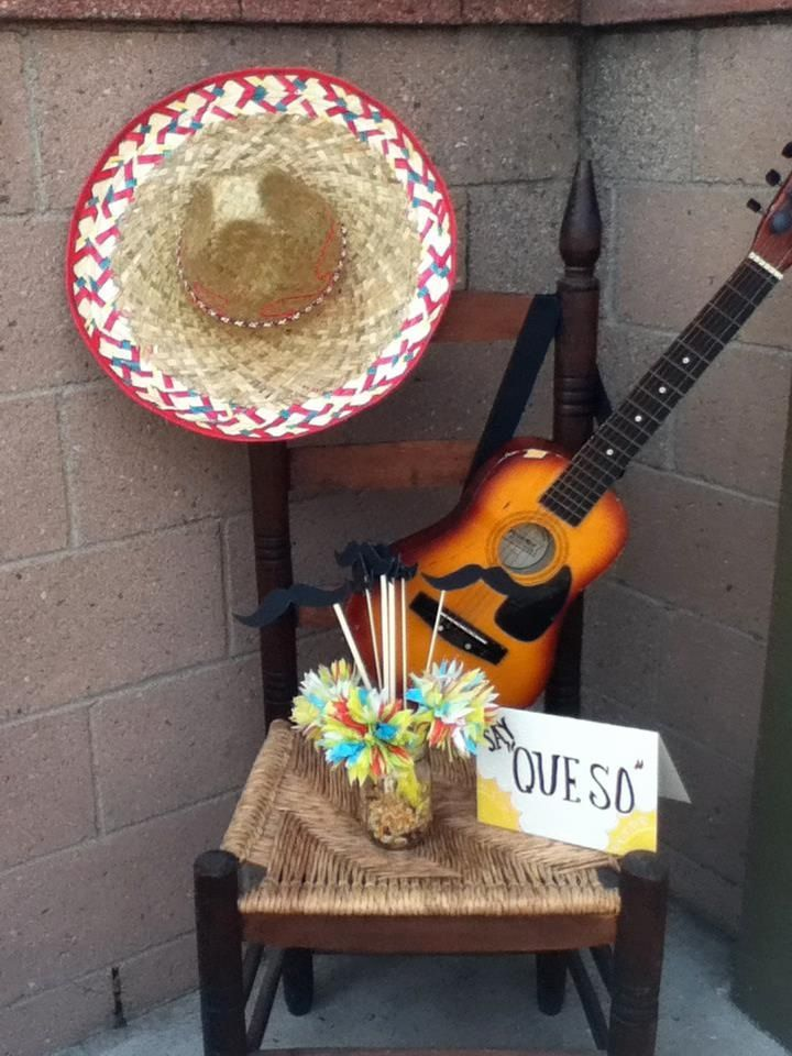 Mexican photo prop